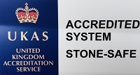 UKAS Accredited System - Stone-Safe